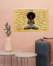 YOGA AFRO - I AM  24x16 Poster poster-landscape-24x16-lifestyle-22