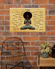 YOGA AFRO - I AM  24x16 Poster poster-landscape-24x16-lifestyle-24