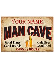 BEER  - CUSTOM NAME 24x16 Poster front