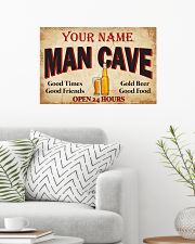 BEER  - CUSTOM NAME 24x16 Poster poster-landscape-24x16-lifestyle-01