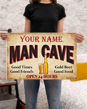 BEER  - CUSTOM NAME 24x16 Poster poster-landscape-24x16-lifestyle-20