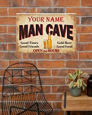 BEER  - CUSTOM NAME 24x16 Poster poster-landscape-24x16-lifestyle-24