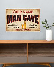 BEER  - CUSTOM NAME 24x16 Poster poster-landscape-24x16-lifestyle-25