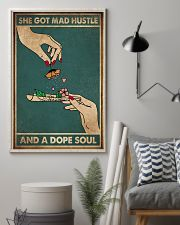 SHE GOT MAD HUSTLE AND A SOPE SOUL 11x17 Poster lifestyle-poster-1