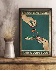 SHE GOT MAD HUSTLE AND A SOPE SOUL 11x17 Poster lifestyle-poster-3