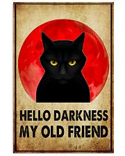 HELLO DARRKNESS MY OLD FRIEND 11x17 Poster front