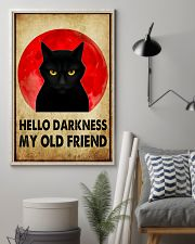 HELLO DARRKNESS MY OLD FRIEND 11x17 Poster lifestyle-poster-1