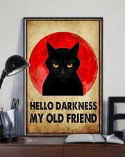 HELLO DARRKNESS MY OLD FRIEND 11x17 Poster lifestyle-poster-2