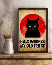 HELLO DARRKNESS MY OLD FRIEND 11x17 Poster lifestyle-poster-3