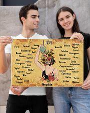 MENTAL HEALTH - I AM  - CUSTOM NAME 24x16 Poster poster-landscape-24x16-lifestyle-21