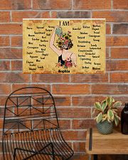 MENTAL HEALTH - I AM  - CUSTOM NAME 24x16 Poster poster-landscape-24x16-lifestyle-24