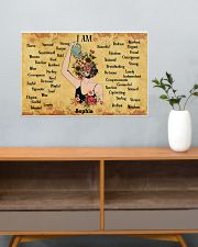 MENTAL HEALTH - I AM  - CUSTOM NAME 24x16 Poster poster-landscape-24x16-lifestyle-25