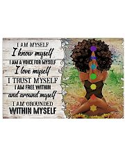 I AM MYSELF  17x11 Poster front