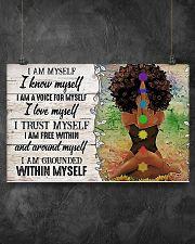 I AM MYSELF  17x11 Poster poster-landscape-17x11-lifestyle-12