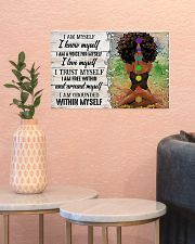 I AM MYSELF  17x11 Poster poster-landscape-17x11-lifestyle-21