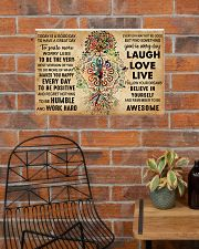 TODAY IS A GOOD DAY 24x16 Poster poster-landscape-24x16-lifestyle-24
