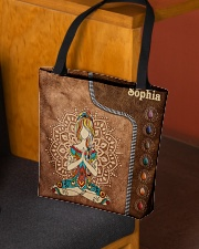 Yoga Leather Pattern Print All-over Tote aos-all-over-tote-lifestyle-front-02