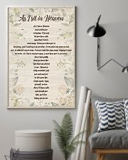 AS I SIT IN HEAVEN 11x17 Poster lifestyle-poster-1