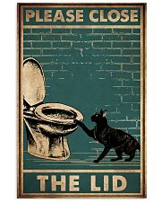 PLEASE CLOSE THE LID 11x17 Poster front