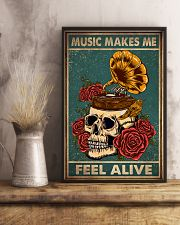 MUSIC MAKES ME FEEL ALIVE 11x17 Poster lifestyle-poster-3