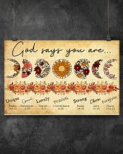 GOD SAY YOU ARE 17x11 Poster poster-landscape-17x11-lifestyle-12
