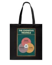 THE CORGNATIVE TRAINGLE Tote Bag tile