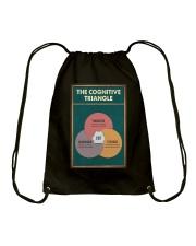 THE CORGNATIVE TRAINGLE Drawstring Bag tile