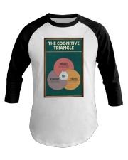 THE CORGNATIVE TRAINGLE Baseball Tee tile