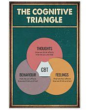 THE CORGNATIVE TRAINGLE 11x17 Poster front
