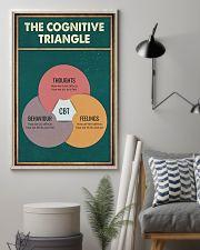THE CORGNATIVE TRAINGLE 11x17 Poster lifestyle-poster-1
