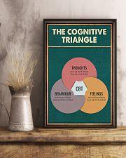 THE CORGNATIVE TRAINGLE 11x17 Poster lifestyle-poster-3