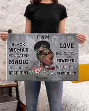 AFRICA BOOK GIRL - I AM  - CUSTOM NAME 24x16 Poster poster-landscape-24x16-lifestyle-20