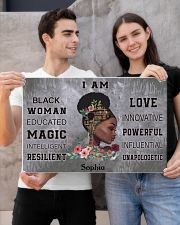 AFRICA BOOK GIRL - I AM  - CUSTOM NAME 24x16 Poster poster-landscape-24x16-lifestyle-21