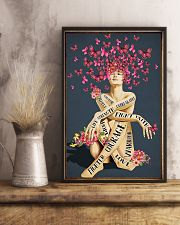 BREAST CANCER 11x17 Poster lifestyle-poster-3