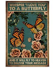 WHISPERED I LOVE YOU TO A BUTTERFLY 11x17 Poster front