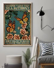 WHISPERED I LOVE YOU TO A BUTTERFLY 11x17 Poster lifestyle-poster-1