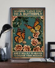 WHISPERED I LOVE YOU TO A BUTTERFLY 11x17 Poster lifestyle-poster-2
