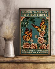 WHISPERED I LOVE YOU TO A BUTTERFLY 11x17 Poster lifestyle-poster-3