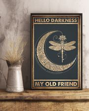 HELLO DARKNESS MY OLD FRIEND 11x17 Poster lifestyle-poster-3
