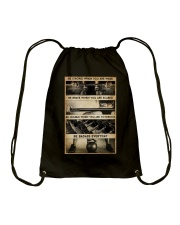 BE STRONG WHEN YOU ARE WEAK Drawstring Bag tile