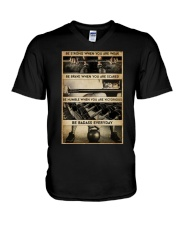 BE STRONG WHEN YOU ARE WEAK V-Neck T-Shirt tile