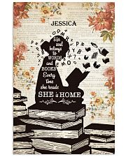 BOOK - SHE IS HOME - CUSTOM NAME 11x17 Poster front