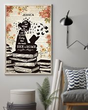 BOOK - SHE IS HOME - CUSTOM NAME 11x17 Poster lifestyle-poster-1