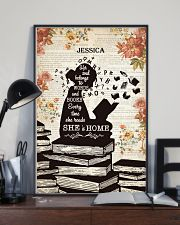 BOOK - SHE IS HOME - CUSTOM NAME 11x17 Poster lifestyle-poster-2