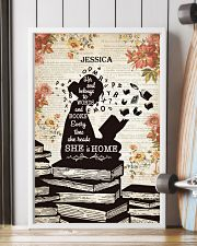 BOOK - SHE IS HOME - CUSTOM NAME 11x17 Poster lifestyle-poster-4