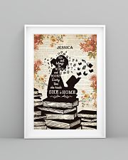 BOOK - SHE IS HOME - CUSTOM NAME 11x17 Poster lifestyle-poster-5