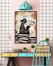 BOOK - SHE IS HOME - CUSTOM NAME 11x17 Poster lifestyle-poster-6