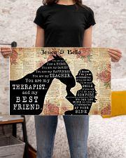 HORSES - CUSTOM NAME 24x16 Poster poster-landscape-24x16-lifestyle-20