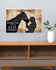 HORSES - CUSTOM NAME 24x16 Poster poster-landscape-24x16-lifestyle-25