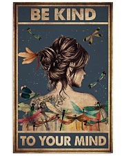 BE KIND TO YPUR MIND 11x17 Poster front